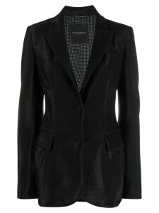 Ermanno Scervino sheen blazer - Black