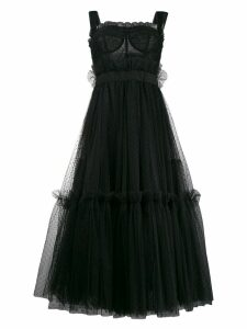 Dolce & Gabbana tiered midi dress - Black
