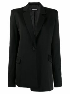 House of Holland asymmetric blazer - Black