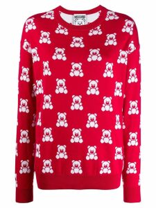 Moschino Teddy Bear jumper - Red
