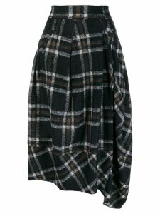 High by Claire Campbell plaid skirt - Blue
