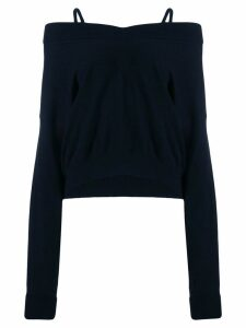 Maison Margiela v-neck jumper - Blue