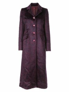 Sies Marjan button-up coat - Red