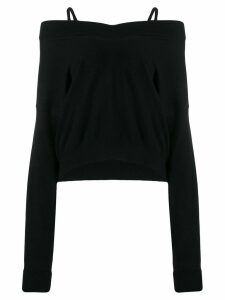 Maison Margiela v-neck jumper - Black