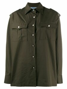Prada classic pocket shirt - Green