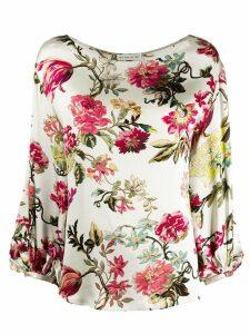 Etro floral print blouse - Neutrals