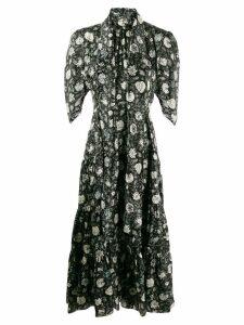 Chloé dandelion print dress - Black