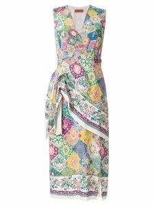 Altuzarra silk sade dress - Multicolour