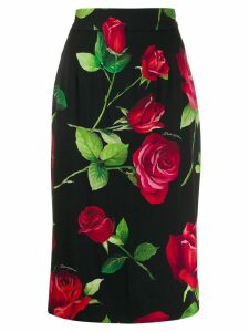 Dolce & Gabbana high waisted skirt - Black