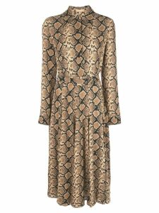 Michael Kors Collection shirt dress - Brown