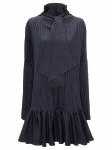 JW Anderson pleated mini dress - Blue
