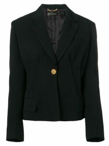 Versace classic tailored blazer - Black