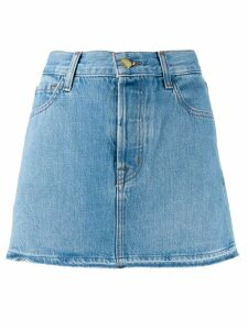 J Brand a-line denim skirt - Blue