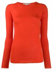 Stella McCartney roll neck fitted jumper - Red