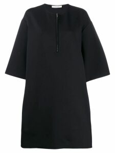 The Row oversized T-shirt dress - Black