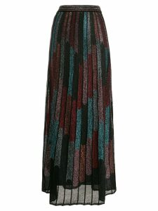 M Missoni metallic pleated skirt - Black