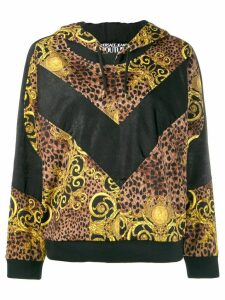Versace Jeans Couture baroque hoodie - Brown