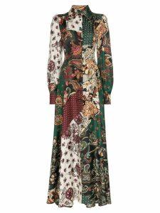 Evi Grintela Evanthia patch print maxi dress - Multicoloured