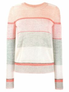 Missoni striped jumper - Pink