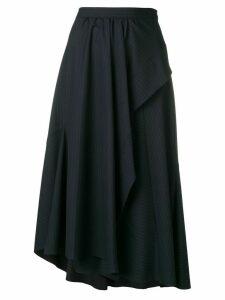 3.1 Phillip Lim Side Ruffle Skirt - Blue