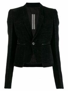Rick Owens single-breasted blazer - Black