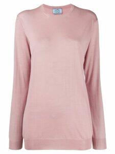Prada relaxed fit sweater - Pink