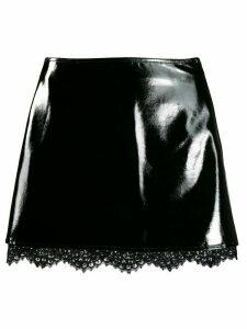 Pinko textured mini skirt - Black
