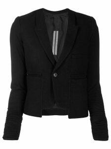 Rick Owens asymmetric blazer - Black
