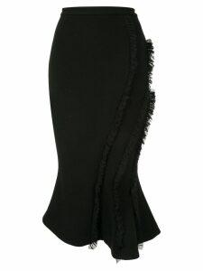 Rachel Gilbert Kiki ruffle trimmed skirt - Black