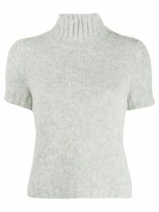 Red Valentino knitted turtleneck jumper - Grey