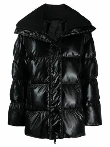 P.A.R.O.S.H. padded hooded coat - Black