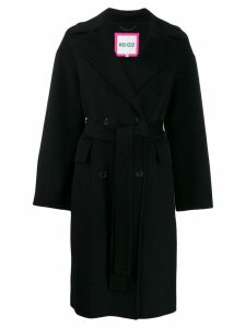 Kenzo double breasted coat - Black