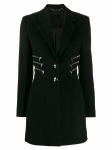 Philipp Plein zipper coat - Black