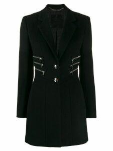 Philipp Plein zipper coat - Black