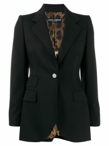 Dolce & Gabbana tailored button blazer - Black