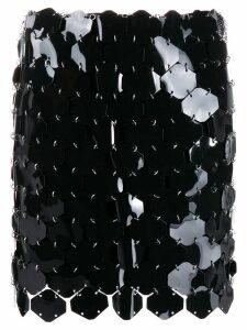 Paco Rabanne sequin mini-skirt - Black