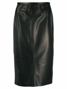 Rochas midi pencil skirt - Black