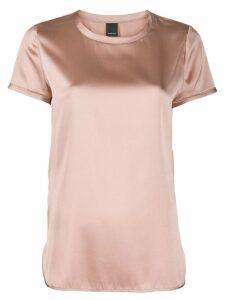 Pinko short-sleeve silk top