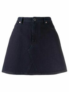 Valentino VLOGO denim skirt - Blue