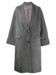 Joseph oversized single breasted coat - Grey