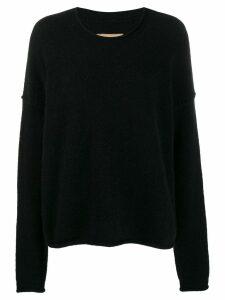 Uma Wang oversized knit sweater - Black