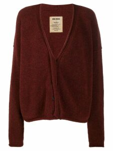 Uma Wang loose-fit knit cardigan - Red