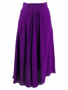 Isabel Marant Étoile gathered front midi skirt - Purple