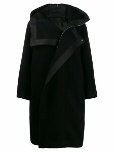 Rick Owens oversized coat - Black