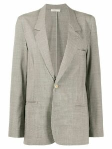 6397 long-line blazer - Grey