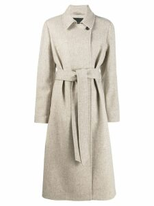 Frenken tie waist coat - NEUTRALS