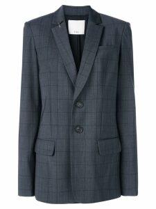 Tibi windowpane blazer - Grey