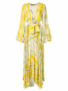 Silvia Tcherassi Annmarie dress - Yellow