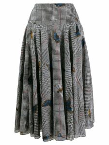 Samantha Sung Aster skirt - Black