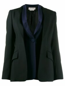 Alexander McQueen double placket blazer - Black